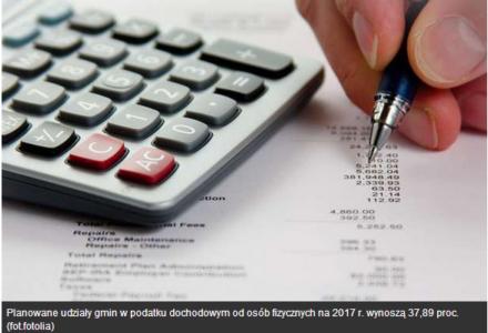 Ministerstwo Finansów prognozuje wyższą subwencję w 2017 roku dla Gminy Zamość