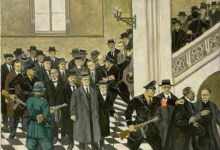 """77. rocznica """"Sonderaktion Krakau"""" – aresztowania przez Niemców wybitnych naukowców na UJ"""