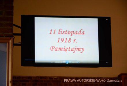 Żdanów – Gminne uroczystości 98. Rocznicy Odzyskania Niepodległości