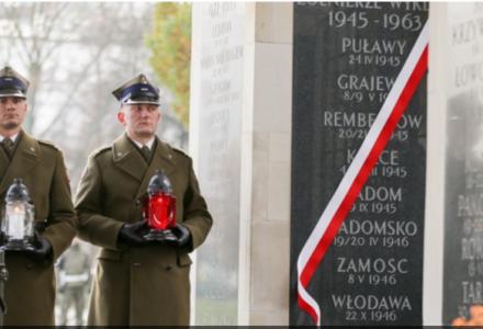 Wzmianka o Zamościu na nowej warszawskiej tablicy pamiątkowej