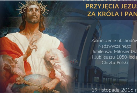 Nowenna przed Jubileuszowym Aktem Przyjęcia Jezusa za Króla i Pana
