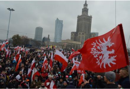 """Hiszpański uczestnik Marszu Niepodległości: """"Polska jest tym, czego ja chcę dla mojego kraju!"""""""
