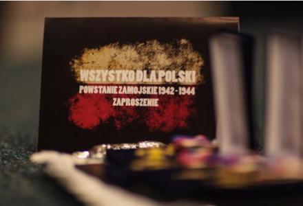 """Premiera filmu """"Wszystko dla Polski. Powstanie Zamojskie 1942-1944"""""""