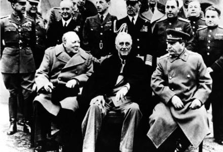 Konferencja w Jałcie – symbol zdrady zachodnich sojuszników