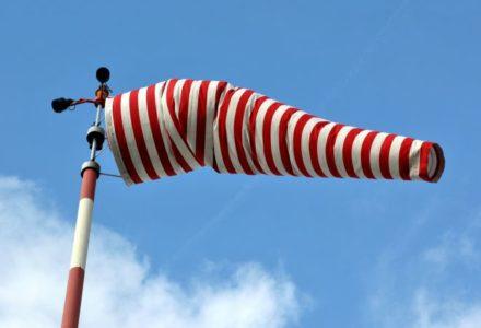 Ostrzeżenie o silnym wietrze