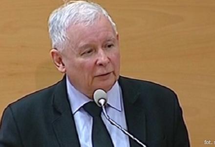 """Jarosław Kaczyński w Toruniu: """"Na pierwszym miejscu jest państwo, bo bez państwa nie mógłby istnieć rynek, a przede wszystkim własność"""""""