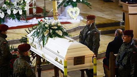 Libiąż: Uroczystości pogrzebowe Heleny Kmieć