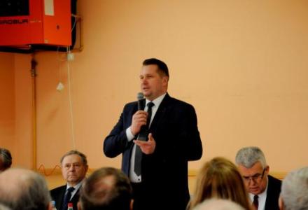 Spotkanie z mieszkańcami Komarowa i Miączyna