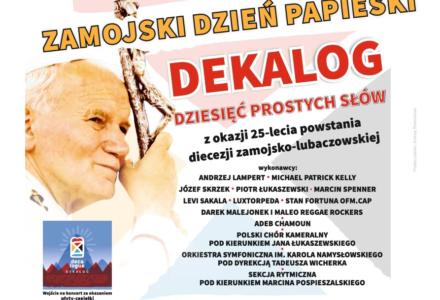 """Koncert Papieski """"Dekalog – dziesięć prostych słów"""""""