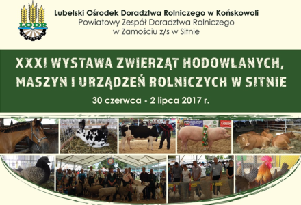 Wystawa Zwierząt Hodowlanych, Maszyn i Urządzeń Rolniczych w ODR Sitno