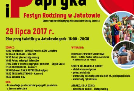 """Pomidor i papryka – Festyn Rodzinny w Jatutowie"""""""