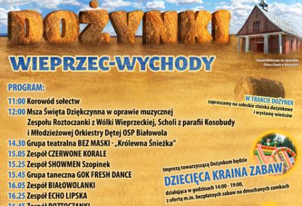 Gminno-parafialne Dożynki Wieprzec-Wychody