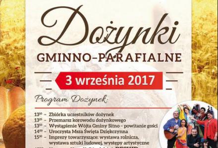 Dożynki gminno – parafialne w Jarosławcu.