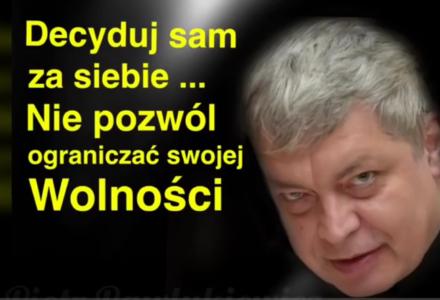 Ks. Piotr Pawlukiewicz : Decyduj sam za siebie, nie pozwól ograniczać swojej wolności…