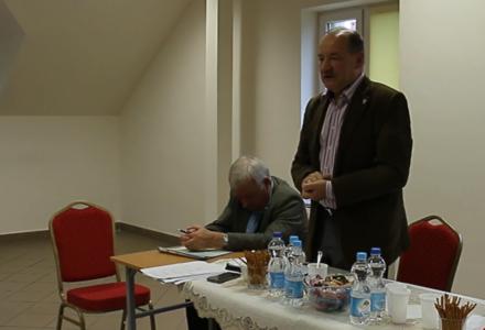 Zebranie wiejskie w Żdanowie [ video ]