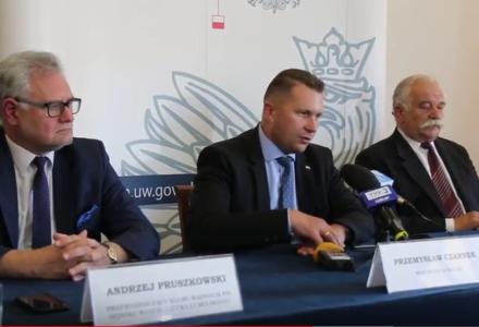 Briefing wojewody lubelskiego dot. WFOŚiGW