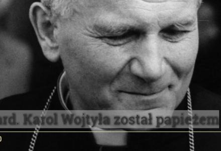 39 lat temu kard. Karol Wojtyła został papieżem