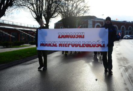 VI Zamojski Marsz Niepodległości  przeszedł ulicami miasta [ FOTO ]
