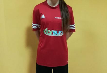 Milena z Uczniowskiego Klubu Piłkarskiego Suchowiczteam Wólka Panieńska kolejny raz doceniona