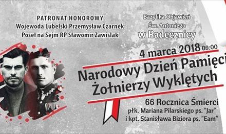 Radecznica – Narodowy Dzień Pamięci Żołnierzy Wyklętych