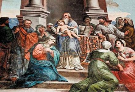 2 lutego święto Ofiarowania Pańskiego