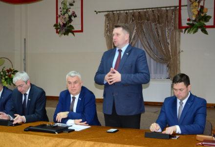 Wojewoda Przemysław Czarnek i Parlamentarzyści PiS na spotkaniu z mieszkańcami Gminy Sitno