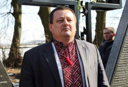 W Sahryniu wiceszef Wołyńskiej Administracji Obwodowej sławił Szuchewycza i Banderę, interweniowała policja