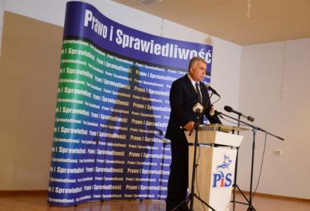 Poseł Sławomir Zawiślak – zaangażowanie na rzecz odbudowy pomnika Marszałka Józefa Piłsudskiego w Zamościu