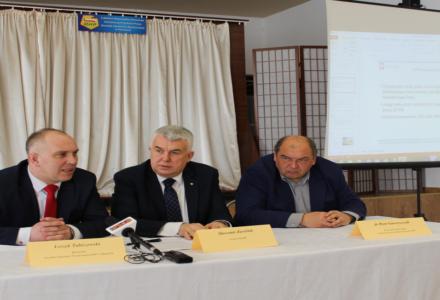 Konferencja prasowa – inwestycje w OHP