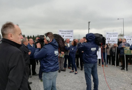 Konflikt o wiadukt w Zawadzie w TVP Lublin