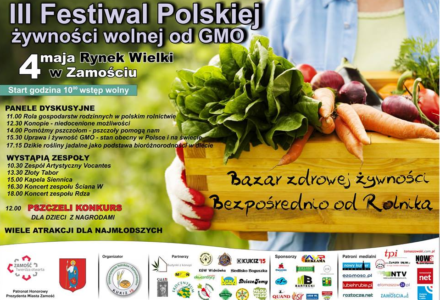 III Festiwal Polskiej żywności wolnej od GMO