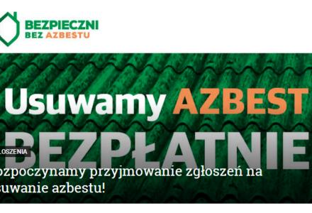 Urząd Gminy Zamość – przyjmowanie zgłoszeń na usuwanie azbestu!