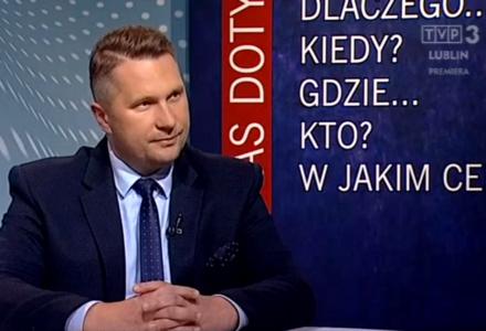 """Wojewoda lubelski w """"To nas dotyczy"""" w TVP 3 Lublin"""