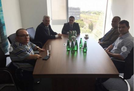 Rozmowy w sprawie polepszenia oferty połączeń kolejowych z Regionem