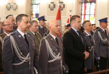 Policjanci z całego województwa świętowali w Puławach