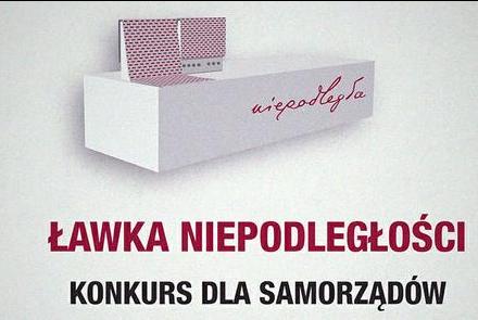 Ławki Niepodległości – rusza konkurs dla samorządów