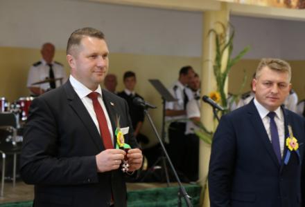 Wójt gminy Biszcza odznaczony Srebrnym Krzyżem Zasługi