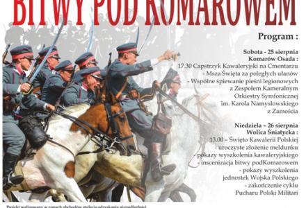 Obchody 98. rocznicy bitwy pod Komarowem – KOMAROWSKA POTRZEBA 2018