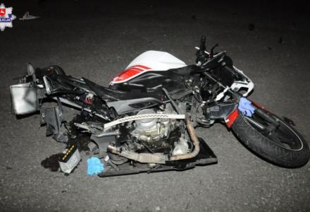 Sitaniec: Motocyklista ranny w wypadku