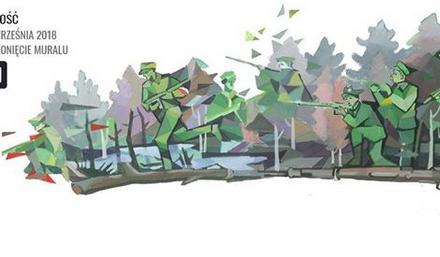 Odsłonięcie muralu Osuchy'44