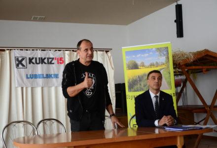 Spotkanie posłów Kukiz'15 z mieszkańcami Zamościa [ VIDEO ]