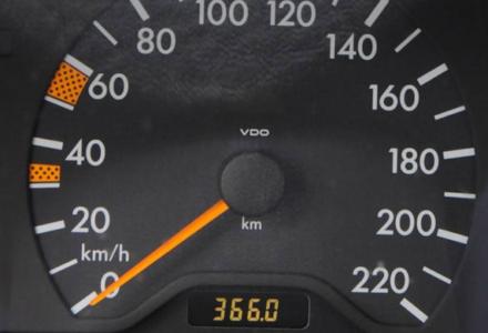 Cofanie licznika kilometrów będzie karane