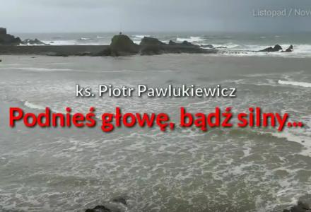 """Ks. Piotr Pawlukiewicz : """"Podnieś głowę, bądź silny…"""""""