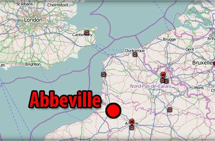 12 września 1939 r. w Abbeville Brytyjczycy i Francuzi zdradzili Polskę. Pięć lat później Abbeville wyzwolili Polacy