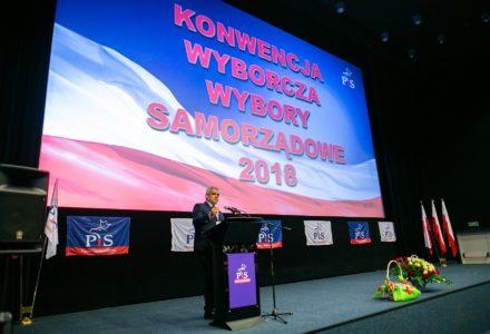 Konwencja PiS – prezentacja Kandydata na Wójta Gminy Zamość i lista kandydatów na gminnych radnych