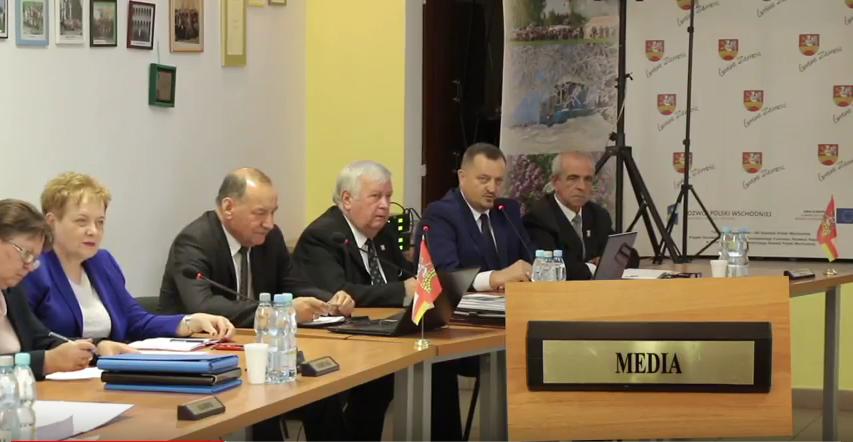Nerwowa atmosfera podczas XLIX sesji Rady Gminy Zamość [ VIDEO ]