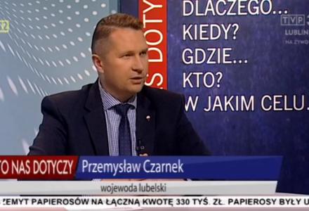 Wojewoda Przemysław Czarnek: Nikogo nie obraziłem