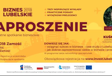 Bezpłatne szkolenia dla przedsiębiorców: Biznes Lubelskie 2018 w Zamościu