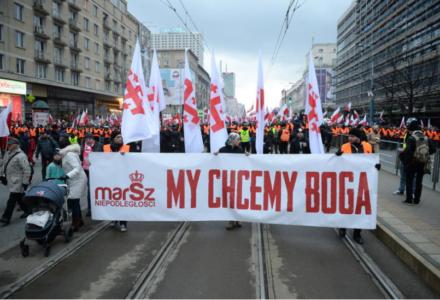 Lewacy chcą zorganizować kontrmanifestację przeciwko Marszowi Niepodległości
