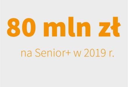 """Nowa edycja programu """"Senior +"""". Rusza nabór ofert"""